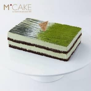 mcake 摩登茶道抹茶味巧克力生日蛋糕 2磅