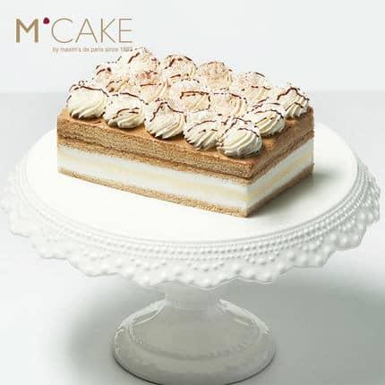 mcake卡法香缇奶油芝士慕斯咖啡生日蛋糕 2磅