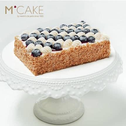 MCAKE蓝莓轻乳拿破仑生日宴会蛋糕 3磅