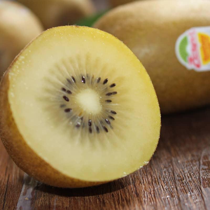 新西兰佳沛阳光金奇异果8个 Zespri黄心金果进口猕猴桃 大果 单果130g -145g/ 个