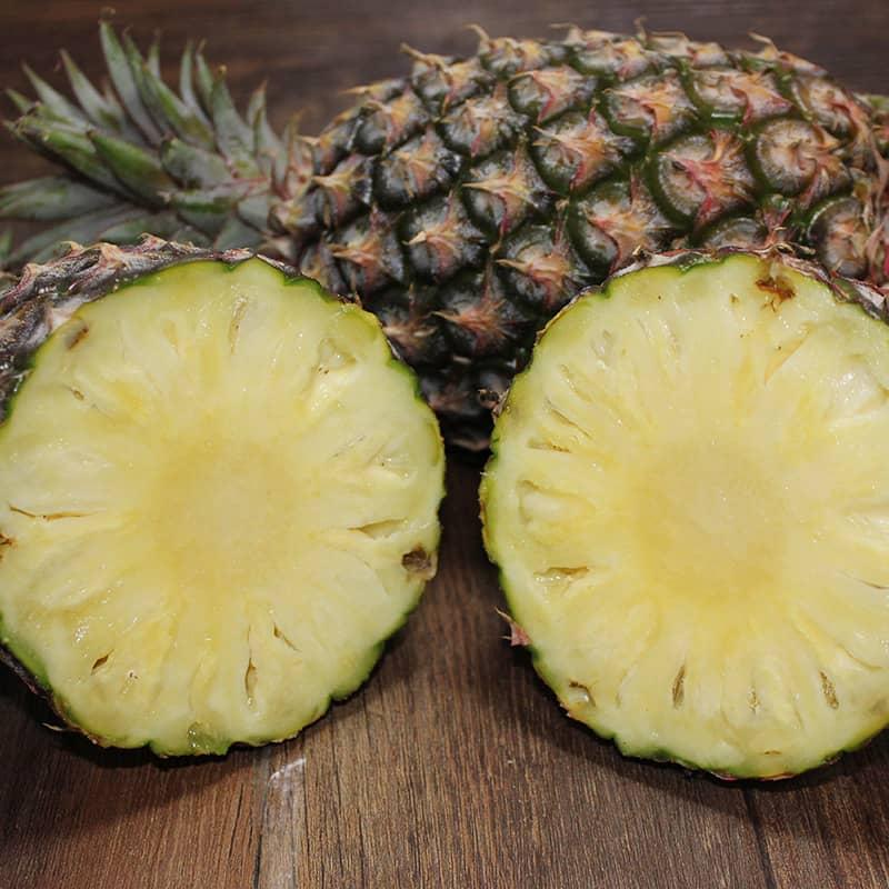 台湾屏东金钻凤梨 2个 无刺凤梨 新鲜水果 单果重约1000g