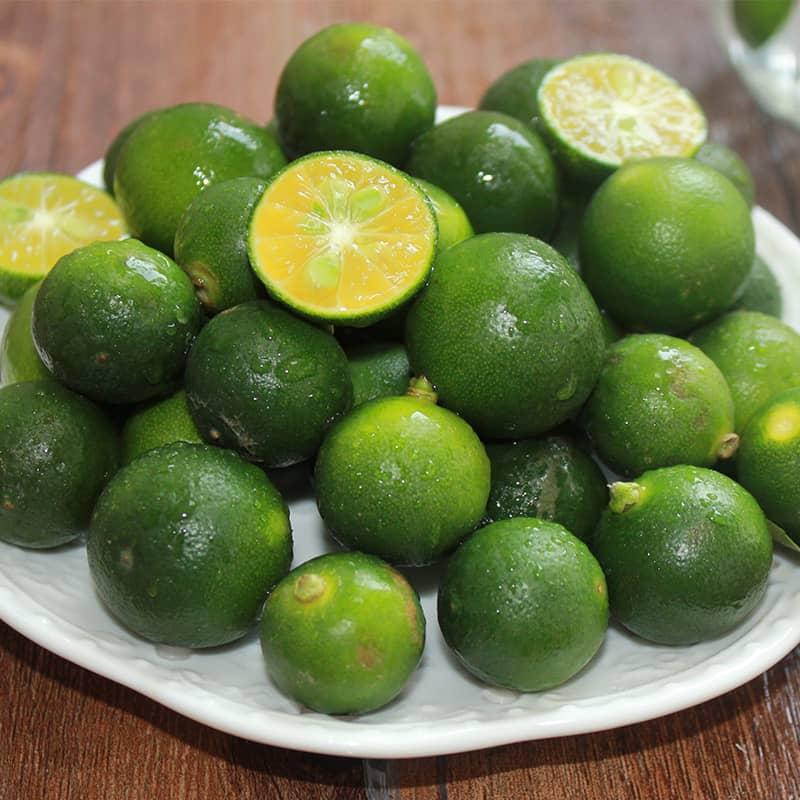 海南小青桔 1斤 青金桔小金桔青金橘小青柠檬柠檬新鲜水果