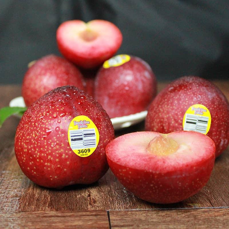 美国恐龙蛋 6个 黑布林红布林新鲜李子雪花李进口新鲜水果