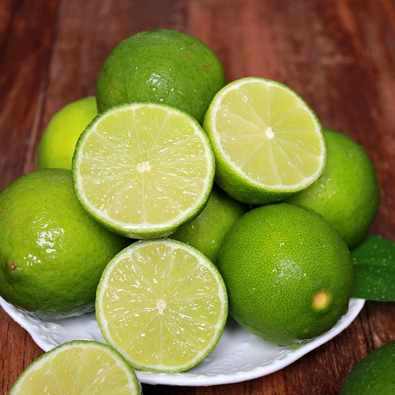海南青柠檬 1斤 新鲜水果小青柠香水柠檬皮薄多汁 坏包赔
