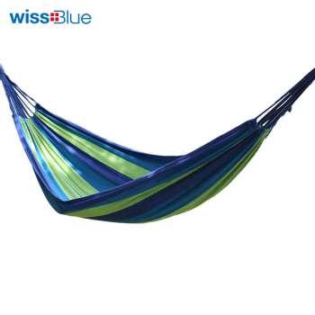维仕蓝户外休闲加宽加厚吊床WA8053-B