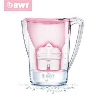 BWT penguin 电子版净水壶 penguin 2.7L 电子,粉色&白色&蓝色&紫红色