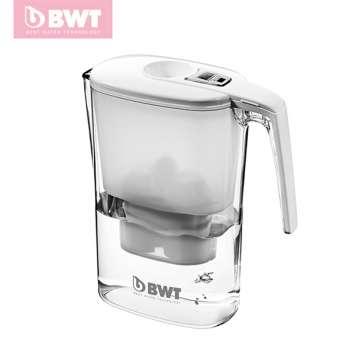 BWT slim 电子版净水壶 slim 3.6L 电子,白色&蓝色