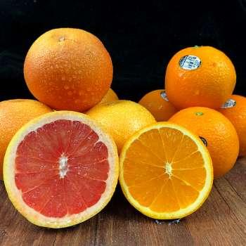 【优果】VC组合 西柚4个美国脐橙6个进口脐橙新鲜水果